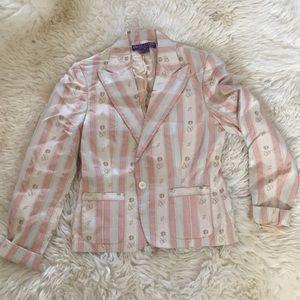 Ralph Lauren Purple Label Silk Jacket Blazer M